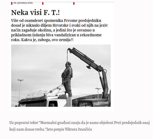 Novosti-neka visi FT