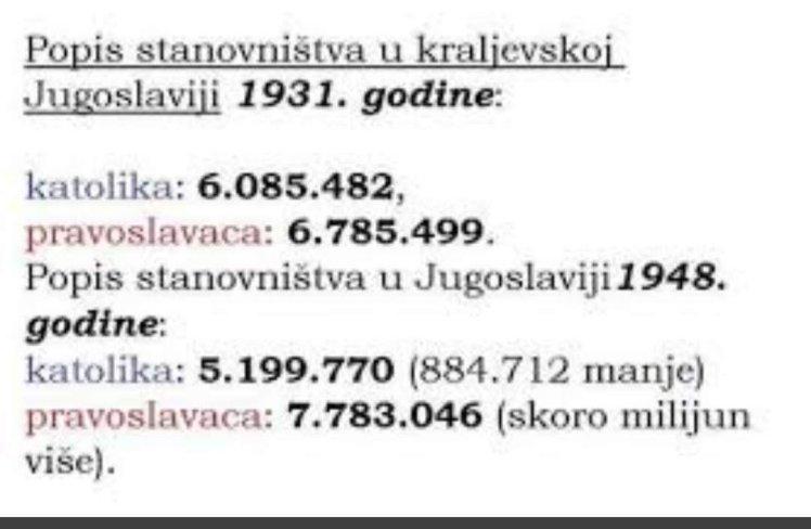 stanovništvo nakon 2.svj rata