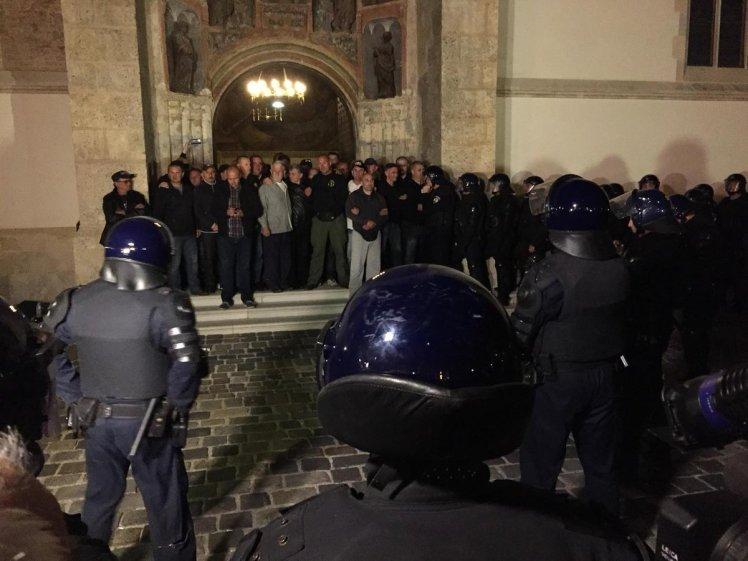 branitelji u crkvi sv. marka