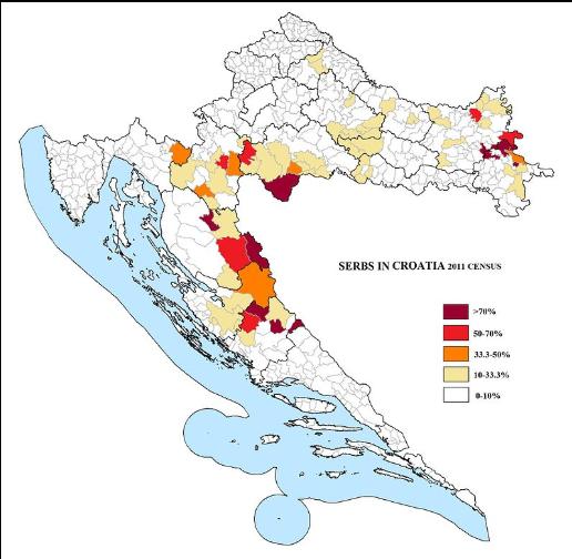 srbi u hrvatskoj 2011