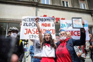 antifasisti-sarajevo-prosvjed-300x200