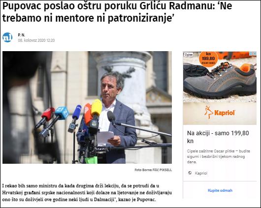pupovac Radmanu